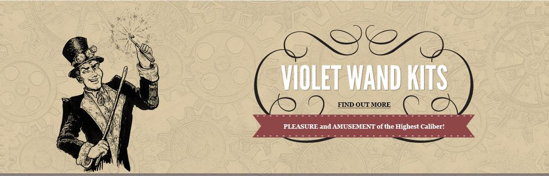Custom Violet Wand Kits
